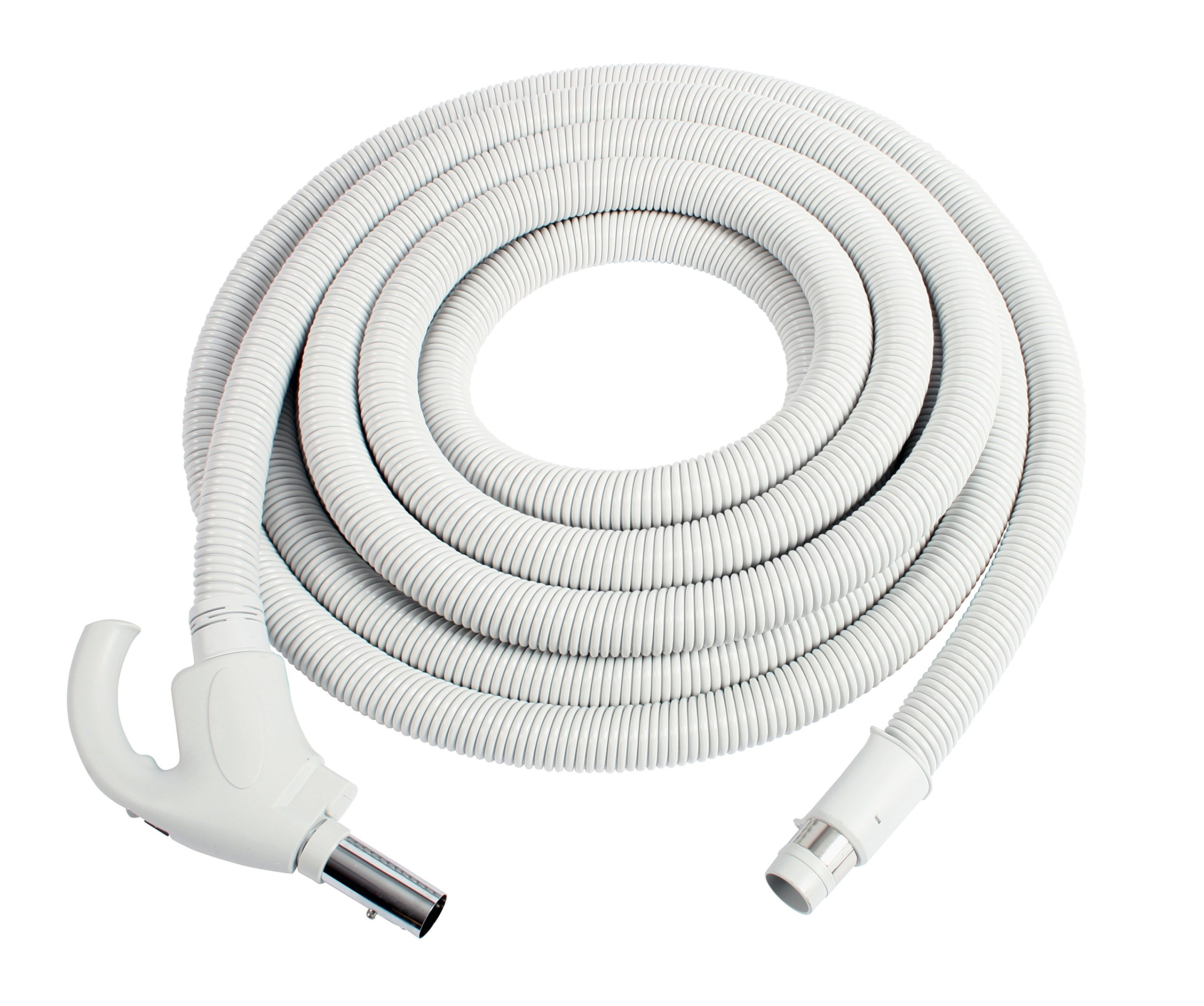 Cen-Tec Systems 91353 Central Vacuum Hose, 40 Ft, Light Gray by Centec Systems