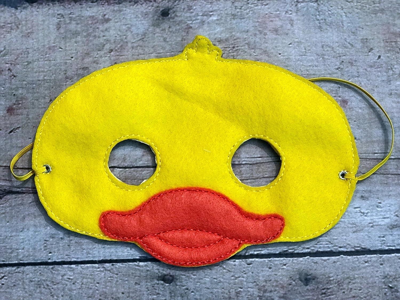 Kids Felt Duck Animal Mask
