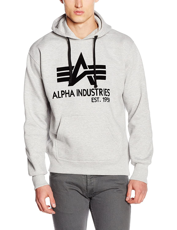 Alpha Industries Herren Kapuzenpullover Big A Classic Hoody