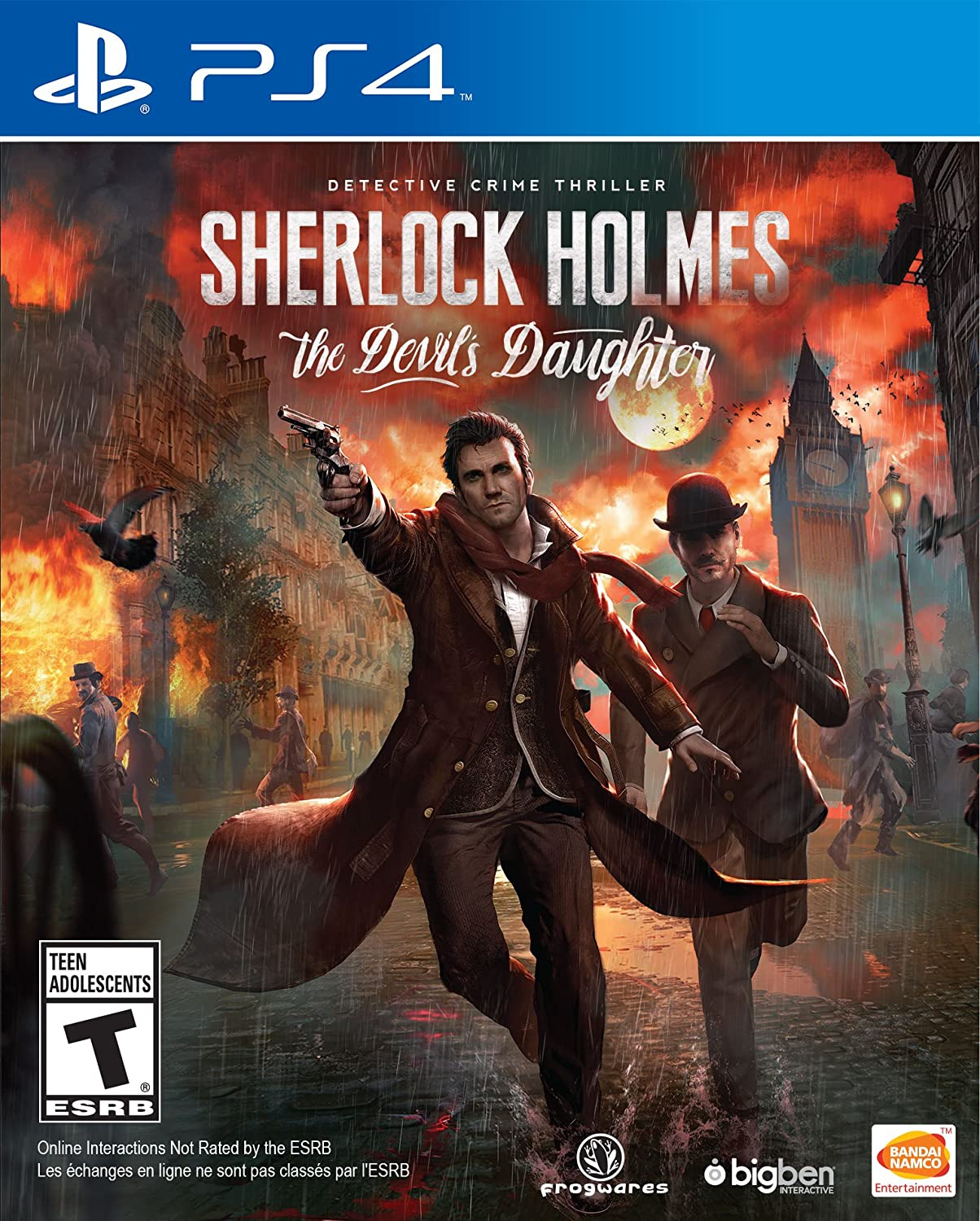 Sherlock Holmes: The Devil's Daughter   Play Station 4 by Bandai Namco Entertainment America