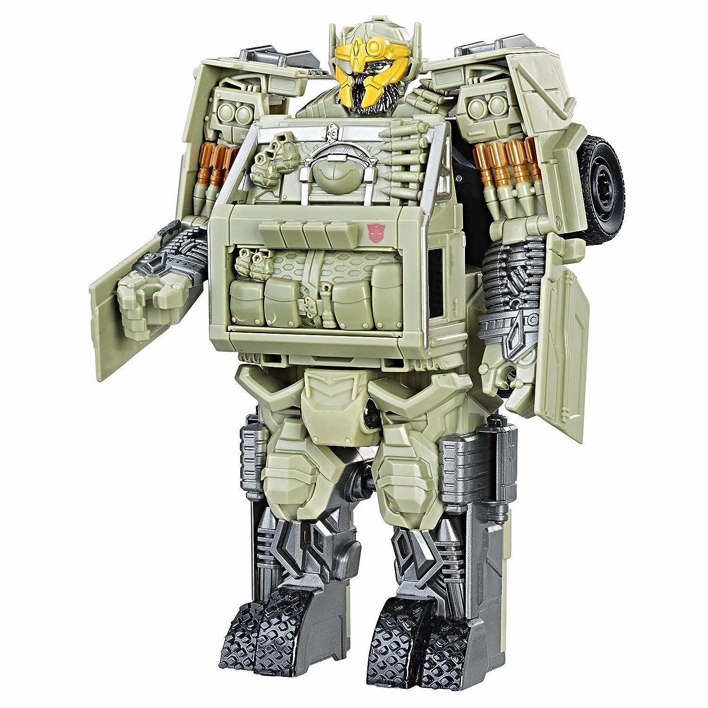 Hasbro C3137 Transformers, Movie 5 Knight Armor Turbo Changer Autobot Hound, Actionfigur