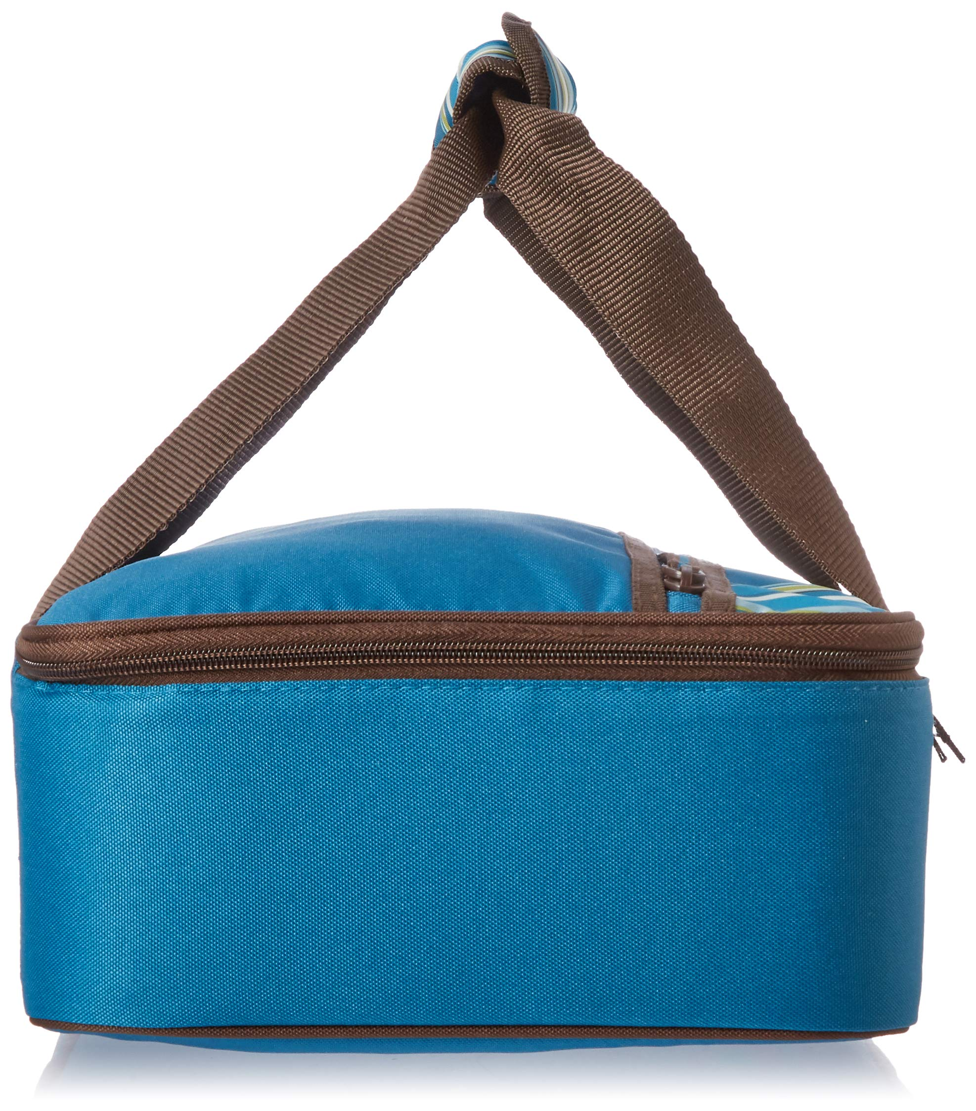 Rachael Ray Lasagna Lugger, Insulated Casserole Carrier for Potluck Parties, Picnics, Tailgates - Fits 9''x13'' Baking Dish, Marine Blue Stripes by Rachael Ray (Image #3)