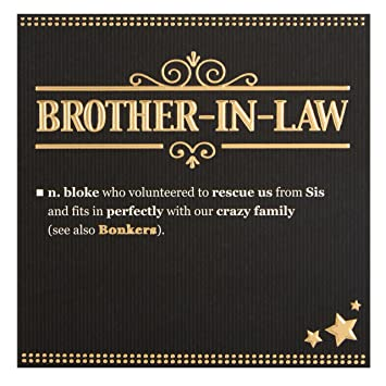 Hallmark Brother In Law Birthday CardquotBonkersquot
