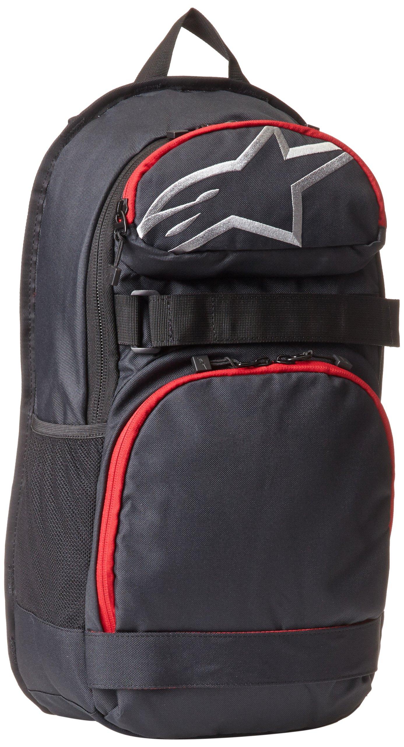 ALPINESTARS Men's Optimus Pack Hat, Black/Red, One Size