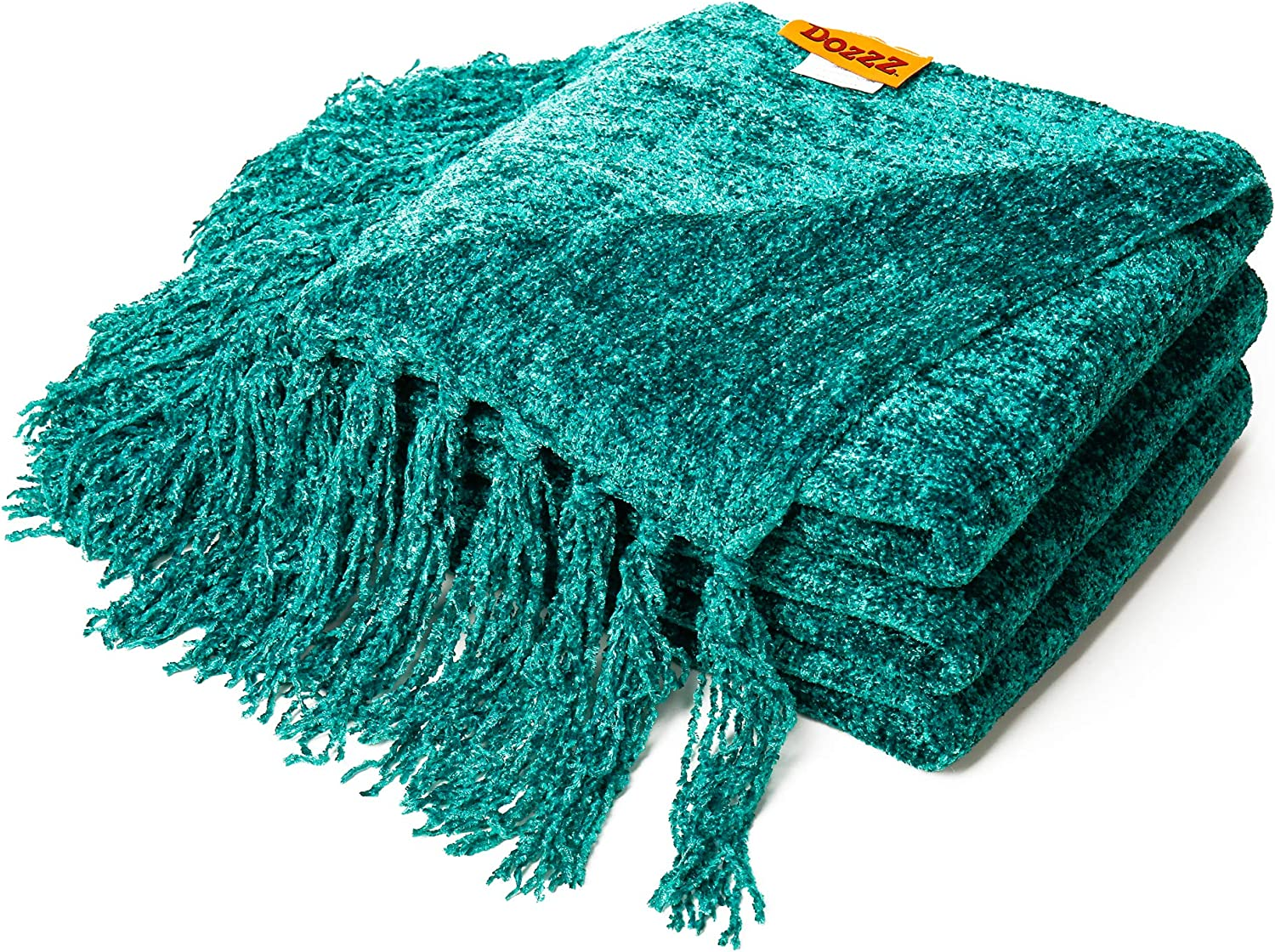 red sofa set and turquoise wall color for incredible.htm amazon com dozzz fluffy chenille knitted throw blanket with  chenille knitted throw blanket