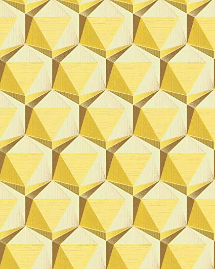 Retro Wallpaper Wall EDEM 1050 11 Vinyl Slightly Textured With Geometric Shapes Subtly Glittering