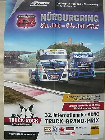 Rennsport Plakat Poster Motorsport 32 Int Adac Truck Grand