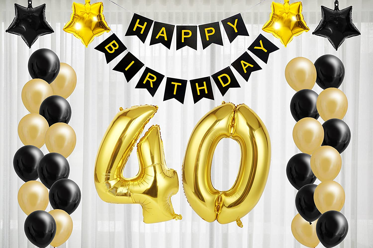 70th Birthday Party Decorations Hanging String Confetti Ceiling Room Wall Banner