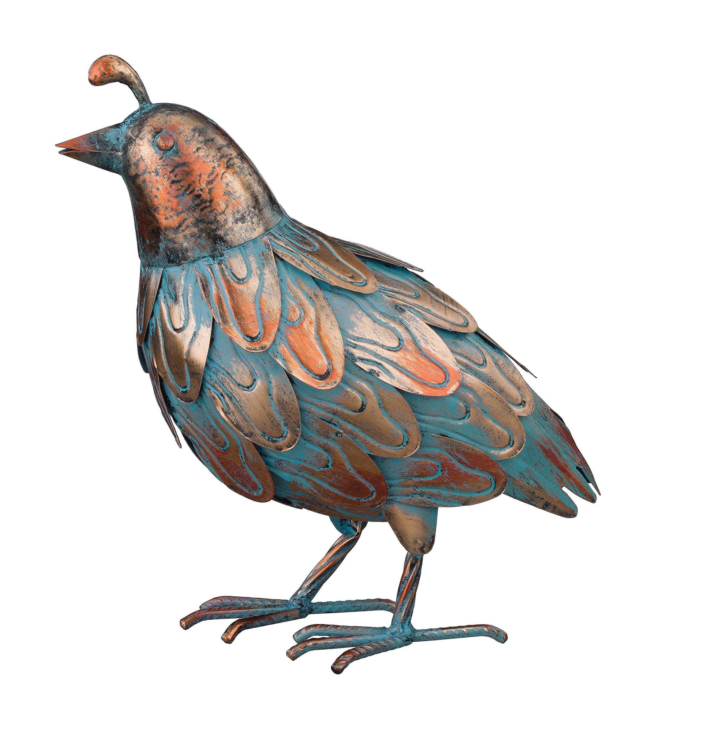 Regal Art & Gift 11308 Patina Quail Decorative Item, Up by Regal Art & Gift
