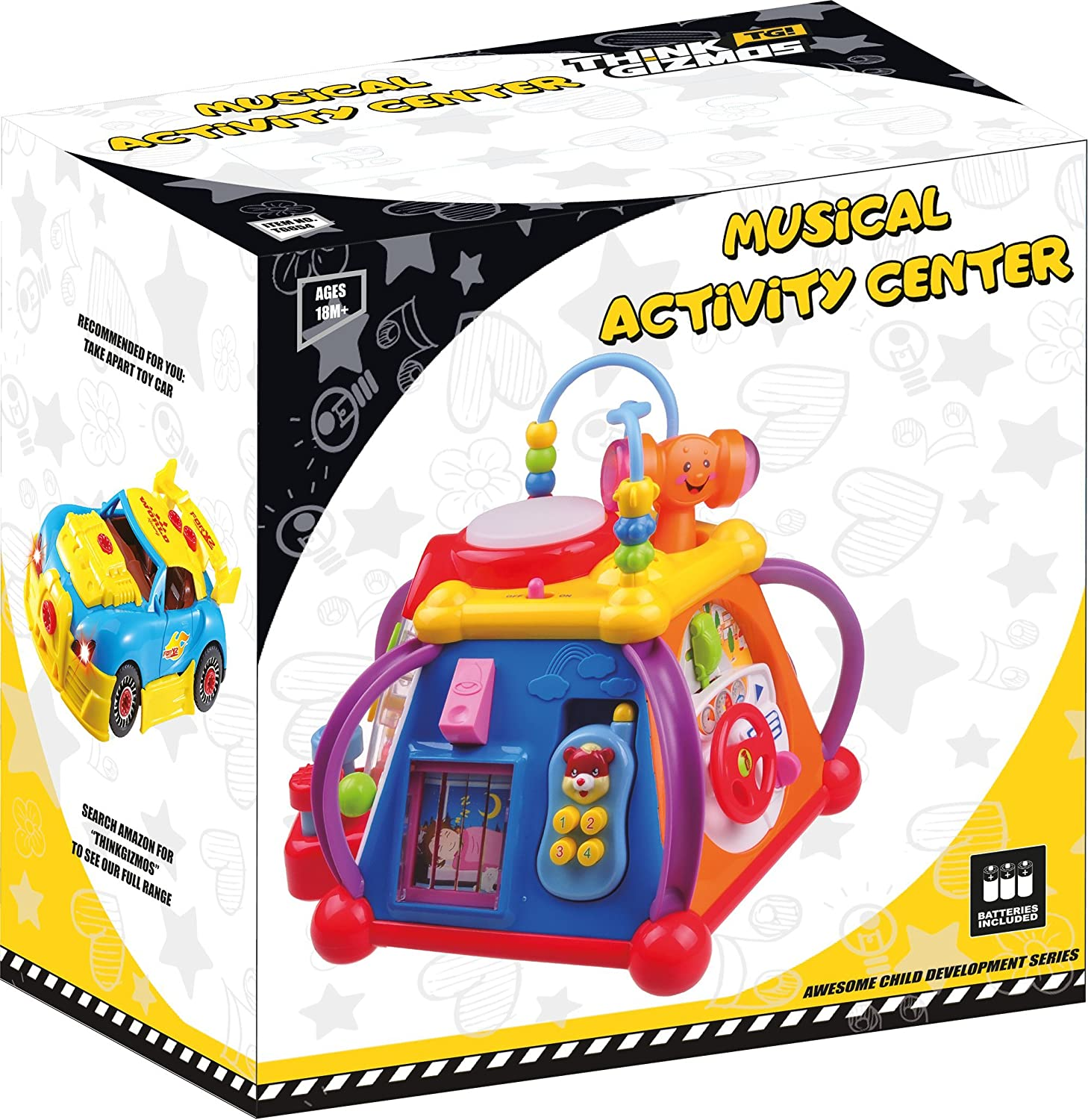 Amazon Musical Learning Toy For Toddlers TG654 Children s