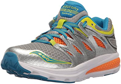 67a1dc2beab0 Saucony Zealot 2 Lace Sneaker Big Kid 1.5 Grey Multi