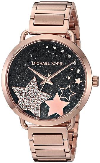 Michael Kors Reloj Analogico para Mujer de Cuarzo con Correa en Acero Inoxidable MK3795: Amazon.es: Relojes