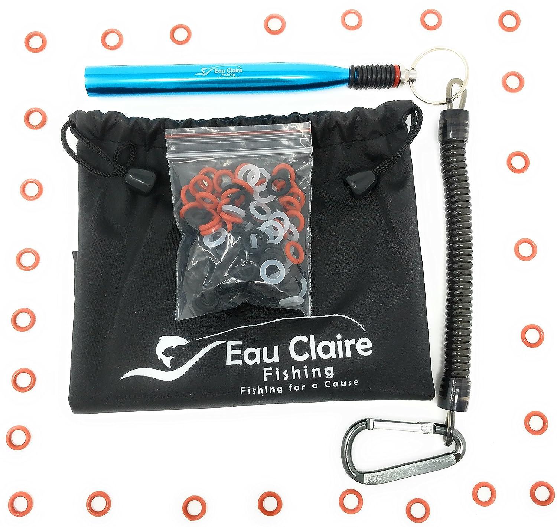 Wacky Fishing Worm Ring Tackle Box Kit Back Bag Wacky for Boys Rig ...