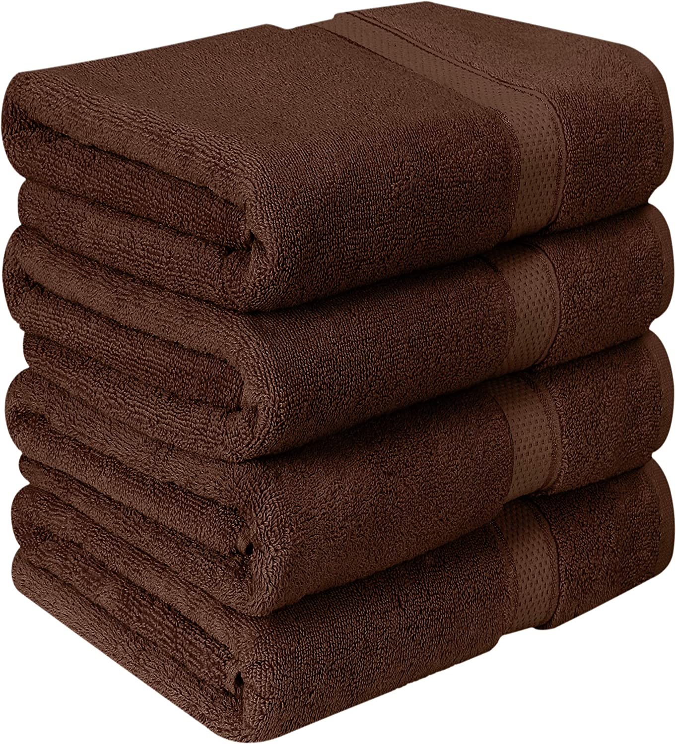 - 600 GSM 100/% Ring Spun Cotton Highly Absorbent and Quick Dry Extra Large Bath Towel Super Soft Hotel Quality Towel Utopia Towels 90 x 180 cm, 2 Pack Premium Jumbo Bath Sheet Pink