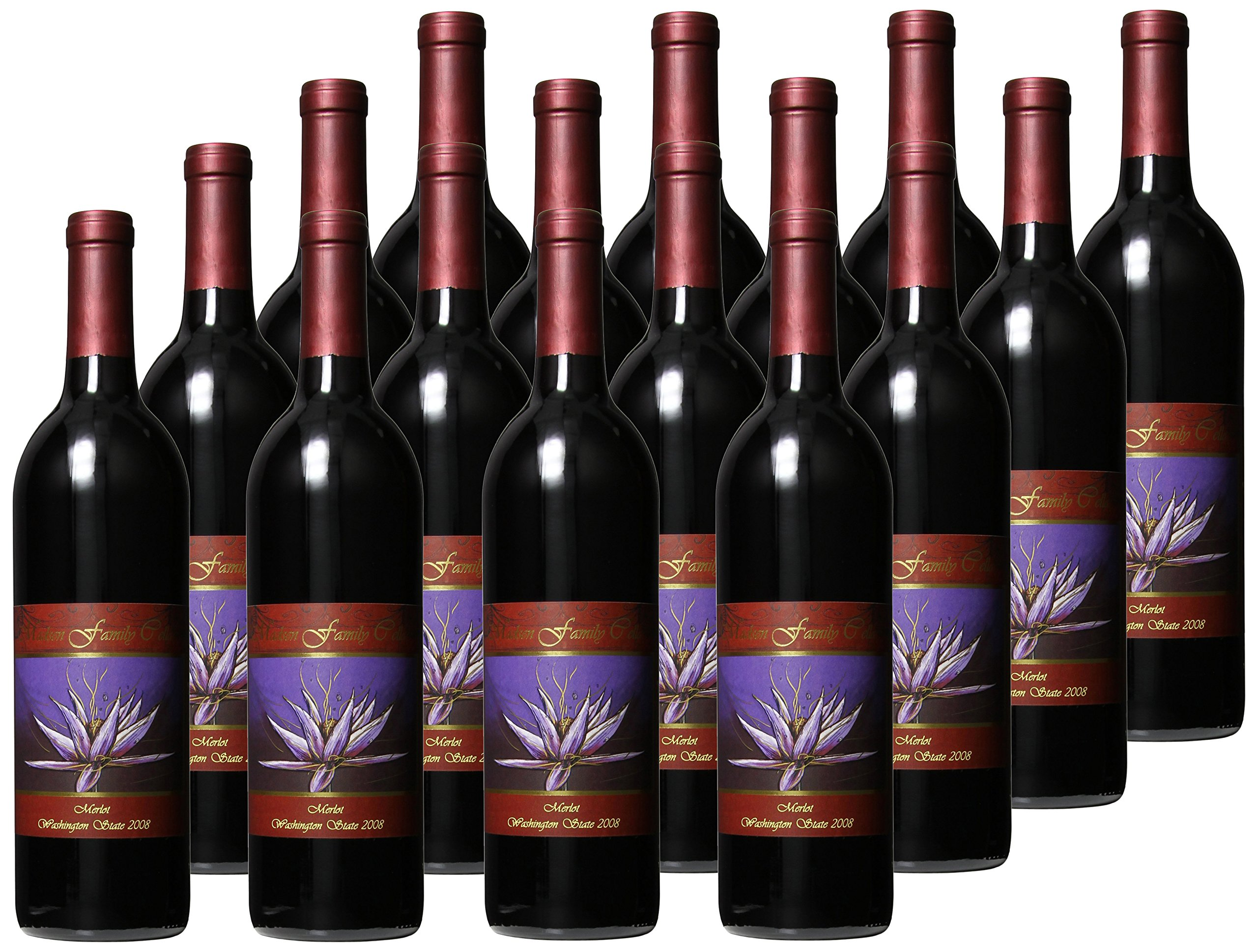 2009 Madsen Family Cellars Washington State Merlot Case Pack, 12 x 750 mL Wine