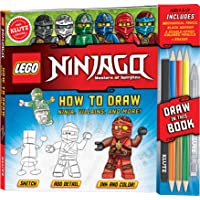 LEGO NINJAGO: How to Draw Ninja, Villains and More! (Klutz)