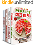 Bake and Fry Box Set (4 in 1): Get Over 100 Mouthwatering Recipes for Stress-Free Cooking (Dump Recipes & Stress-Free Meals)