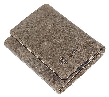 cript piel gris - Tarjeta Funda Wallet Funda Tarjeta de ...