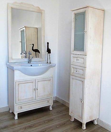 Le Chic Mobile da bagno classico legno 2 ante 75cm completo vari ...