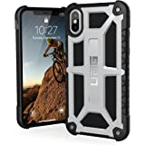 URBAN ARMOR GEAR UAG iPhone Xs/X [5.8-inch Screen] Monarch Feather-Light Rugged [Platinum] Military Drop Tested iPhone Case