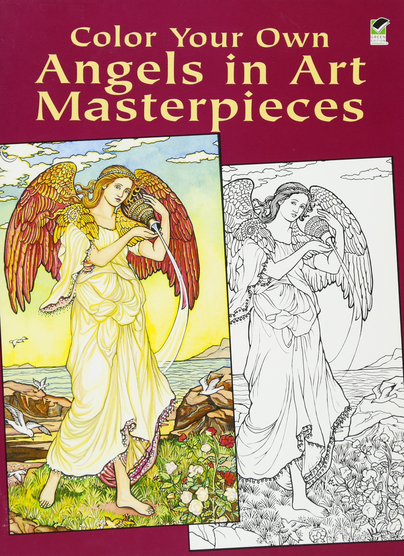 Art color book - Color Your Own Angels In Art Masterpieces Dover Art Coloring Book Marty Noble 9780486430386 Amazon Com Books