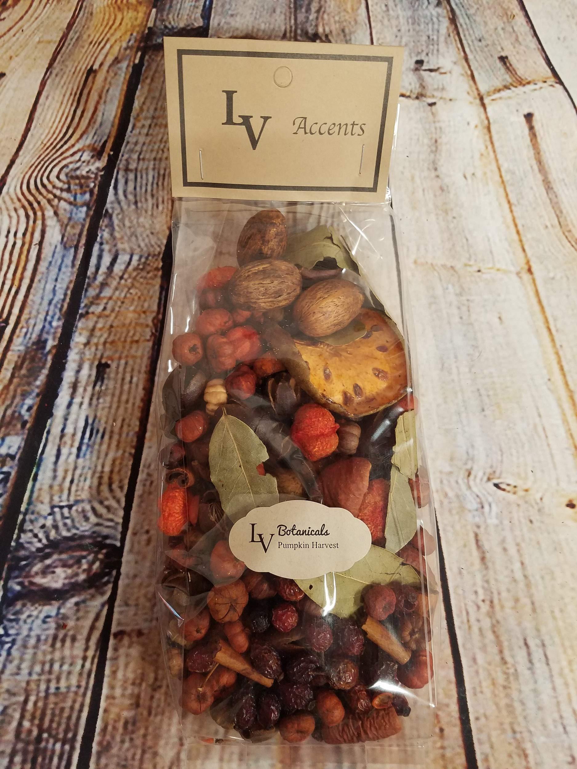LV Scented Potpourri Blends Bowl Vase Fillers (Pumpkin Harvest) by LV