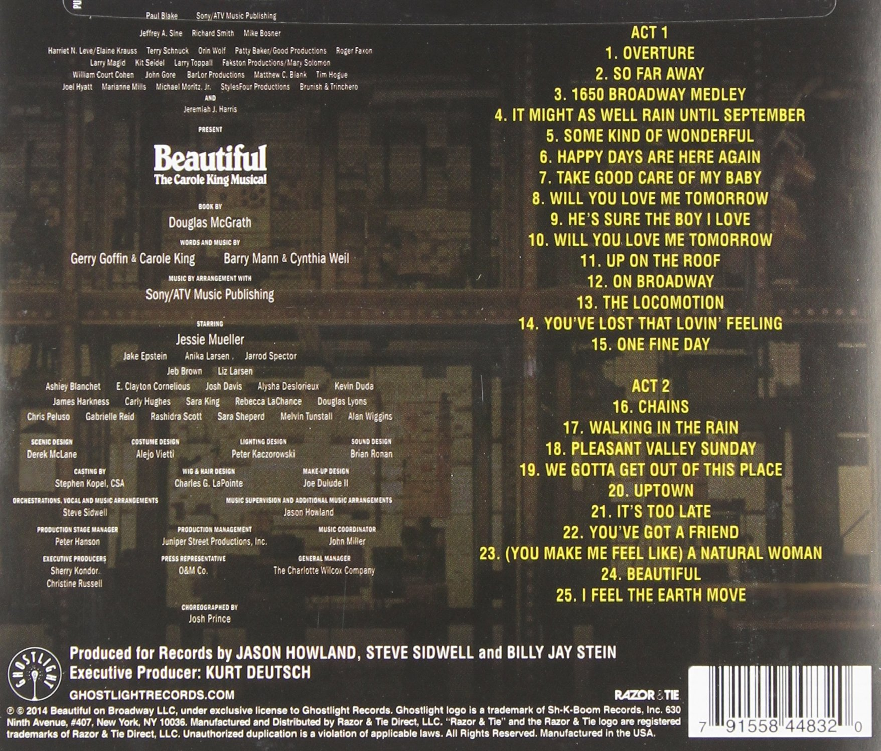 Beautiful: The Carole King Musical by Ghostlight