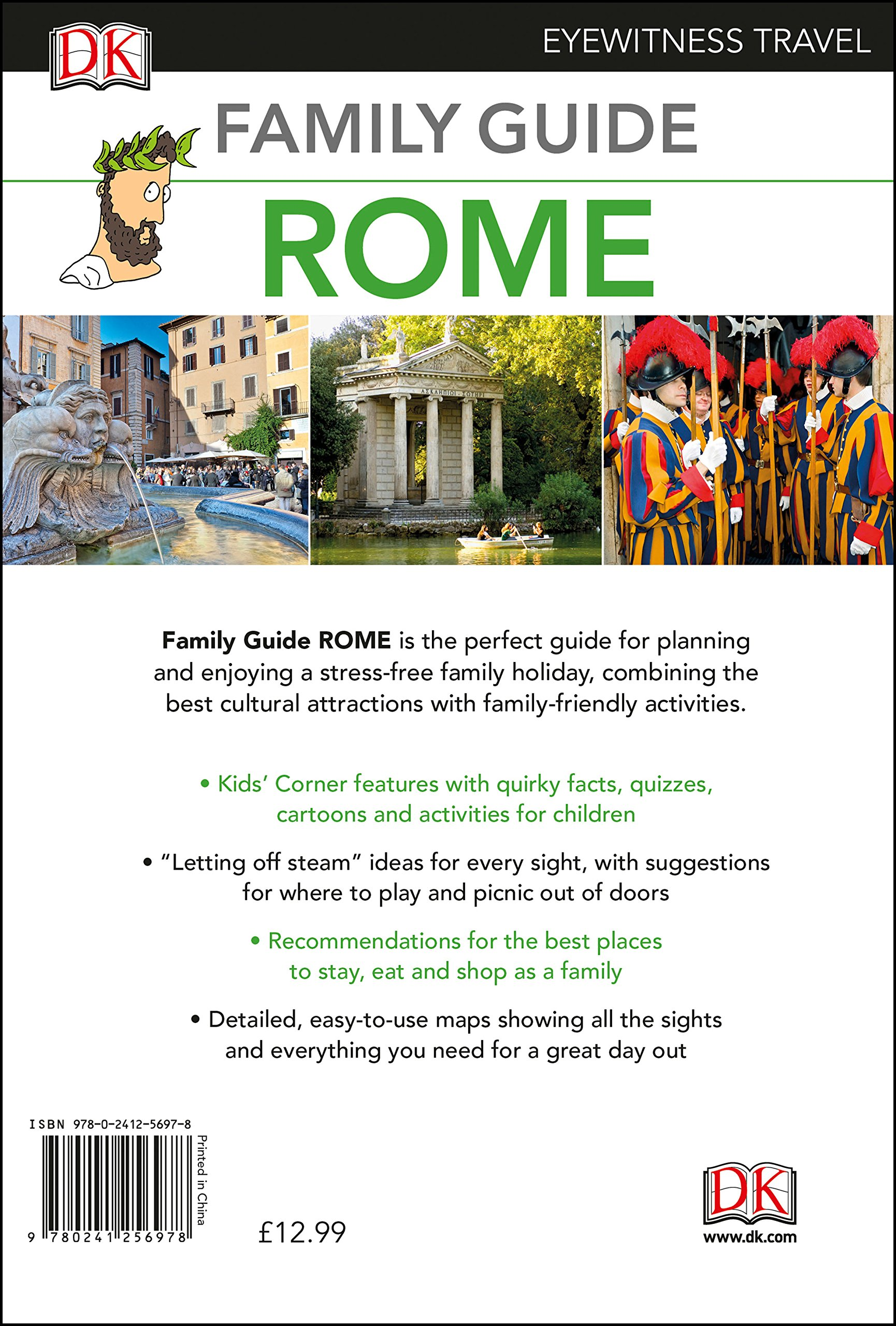 Family Guide Rome DK Eyewitness Travel Guide Amazoncouk DK - 8 fun activities for kids in rome
