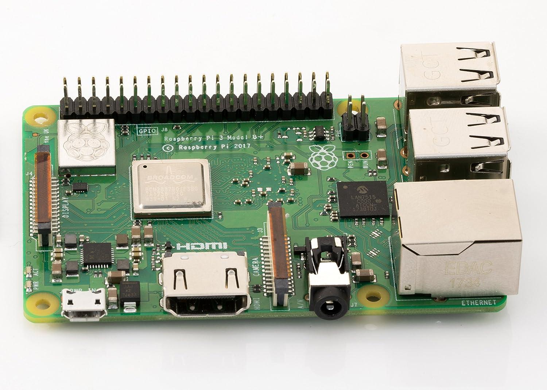 Raspberry Pi 3 Modelo B+ - LAN Inalámbrica de Doble Banda: Amazon ...