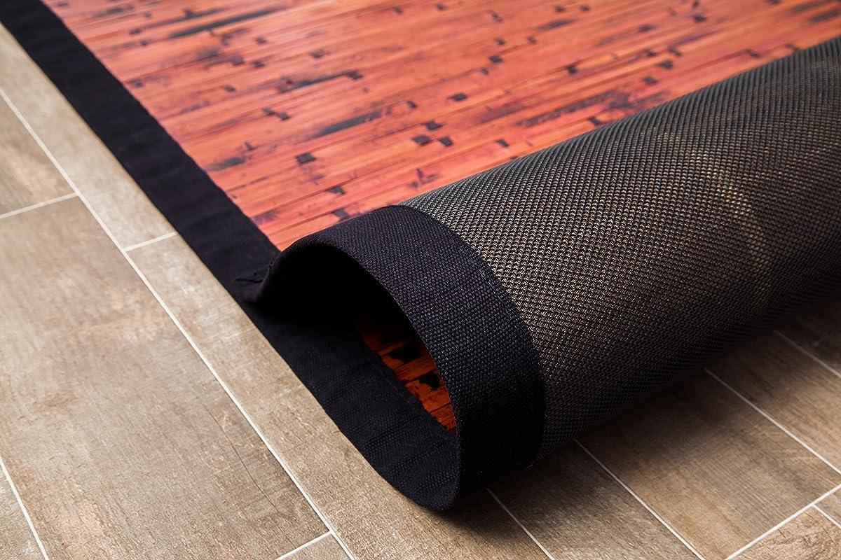Anji Mountain 4-Foot-by-6-Foot Natural Fiber Rug, Cobblestone