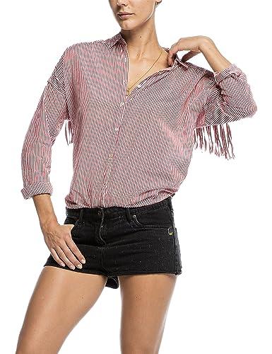 Scotch & Soda Maison 16251220607-Camicia Donna    Multicolore(Combo E) L