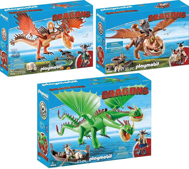 PLAYMOBIL 9458-59-60 Dragons Set 7 - 9458 + 9459 + 9460