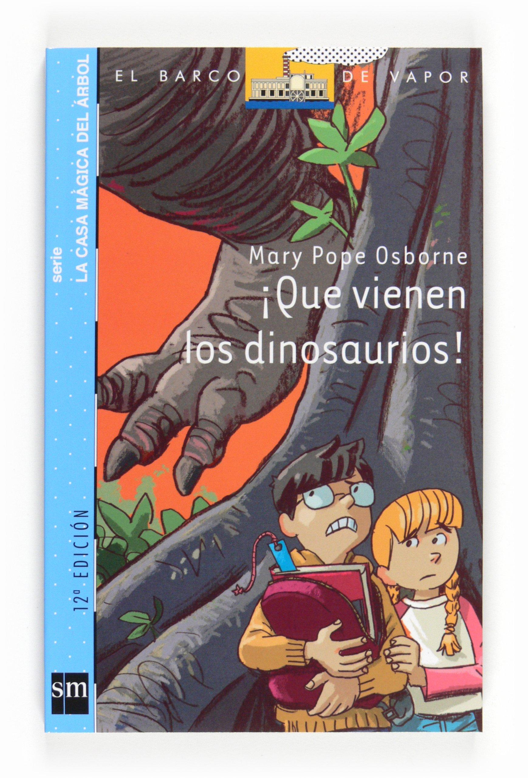 Que vienen los dinosaurios (Spanish) Paperback – 2010