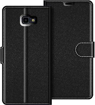 COODIO Funda Samsung Galaxy J4 Plus con Tapa, Funda Movil Samsung J4 Plus, Funda Libro Galaxy J4 Plus Carcasa Magnético Funda para Samsung Galaxy J4 Plus 2018, Negro: Amazon.es: Electrónica