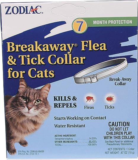 Amazon.com: Zodiac 7 Month & de pulgas Tick Collar para ...