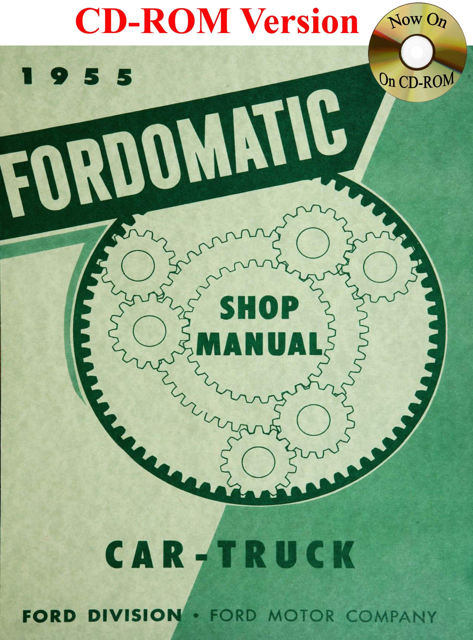 1955 Ford Passenger Car /& Thunderbird Shop Manual