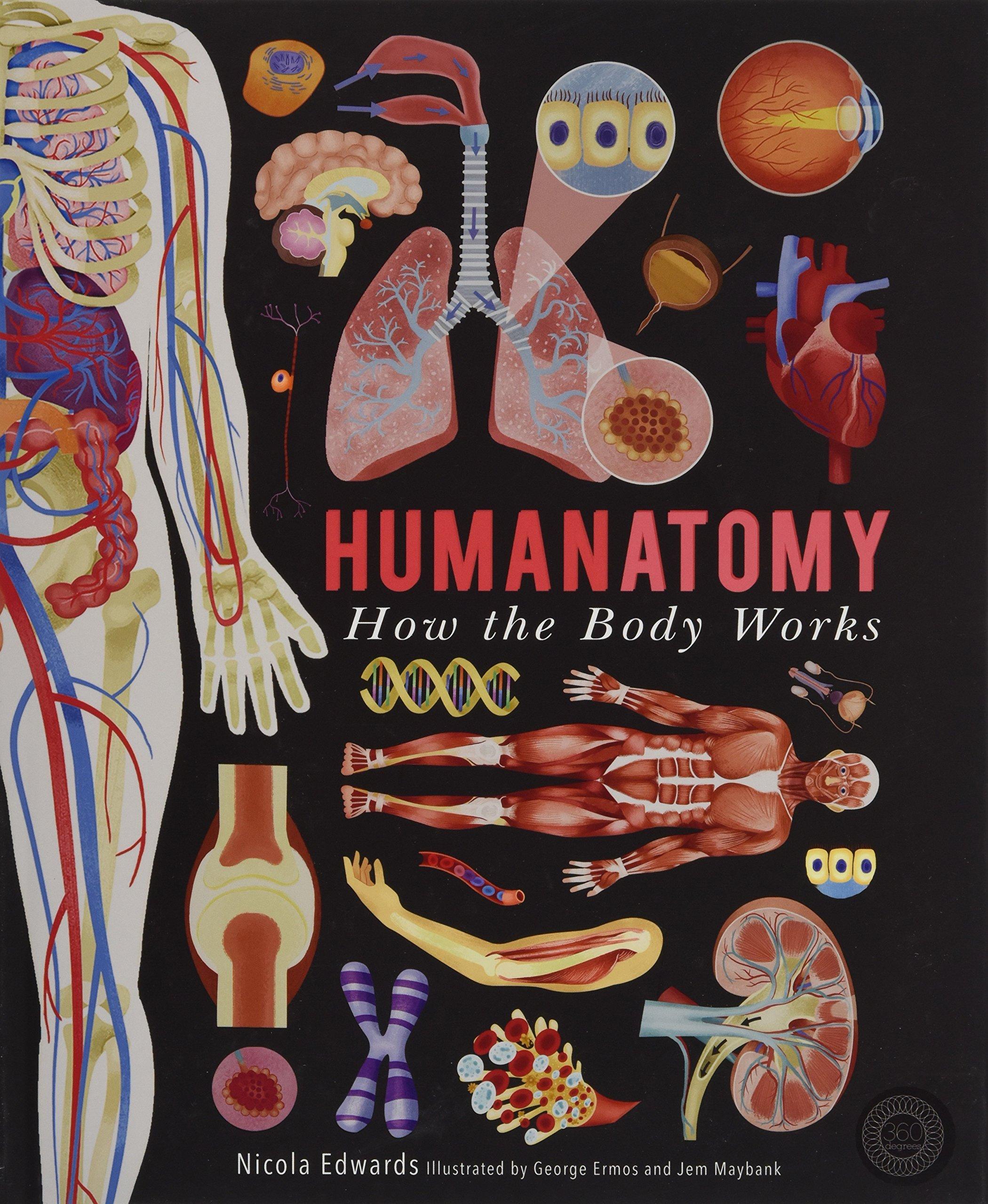 Humanatomy: How the Body Works: Amazon.co.uk: Nicola Edwards, Jem ...