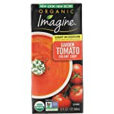 Imagine Organic Soup, Less Sodium Creamy Garden Tomato, 32 Ounce (Packaging May Vary)