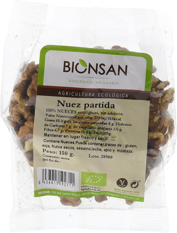 Bionsan Nueces a Mitades Ecológicas - 3 Bolsas de 150 gr ...