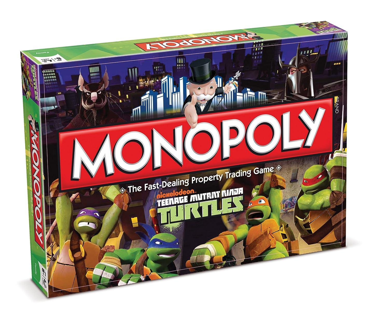 Teenage Mutant Ninja Turtles Brettspiel Monopoly Englische Version