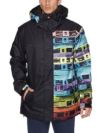Quiksilver Last Mission - Chaqueta de esquí para hombre, tamaño S, color azul
