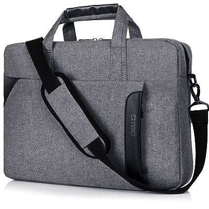 Laptop Funda, dtbg 15,6 Nylon hombro Messenger Bag Portable ...