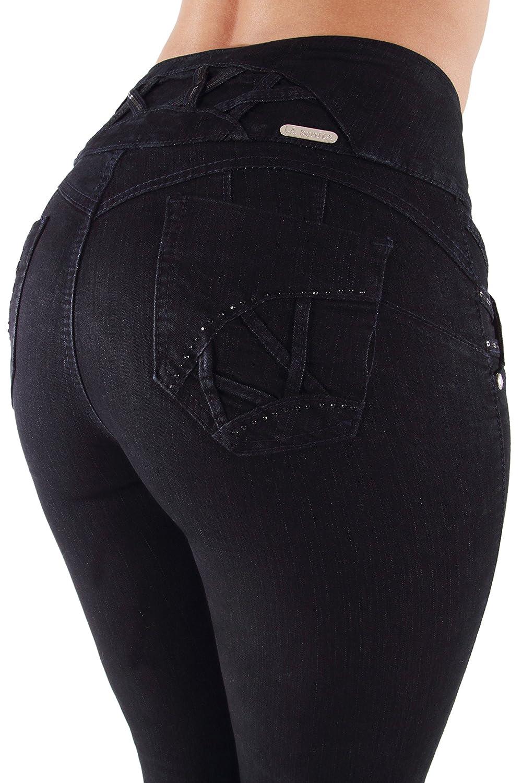Fashion2Love 7A184(S) - Butt Lift, Levanta Cola, High Waist, Skinny Jeans