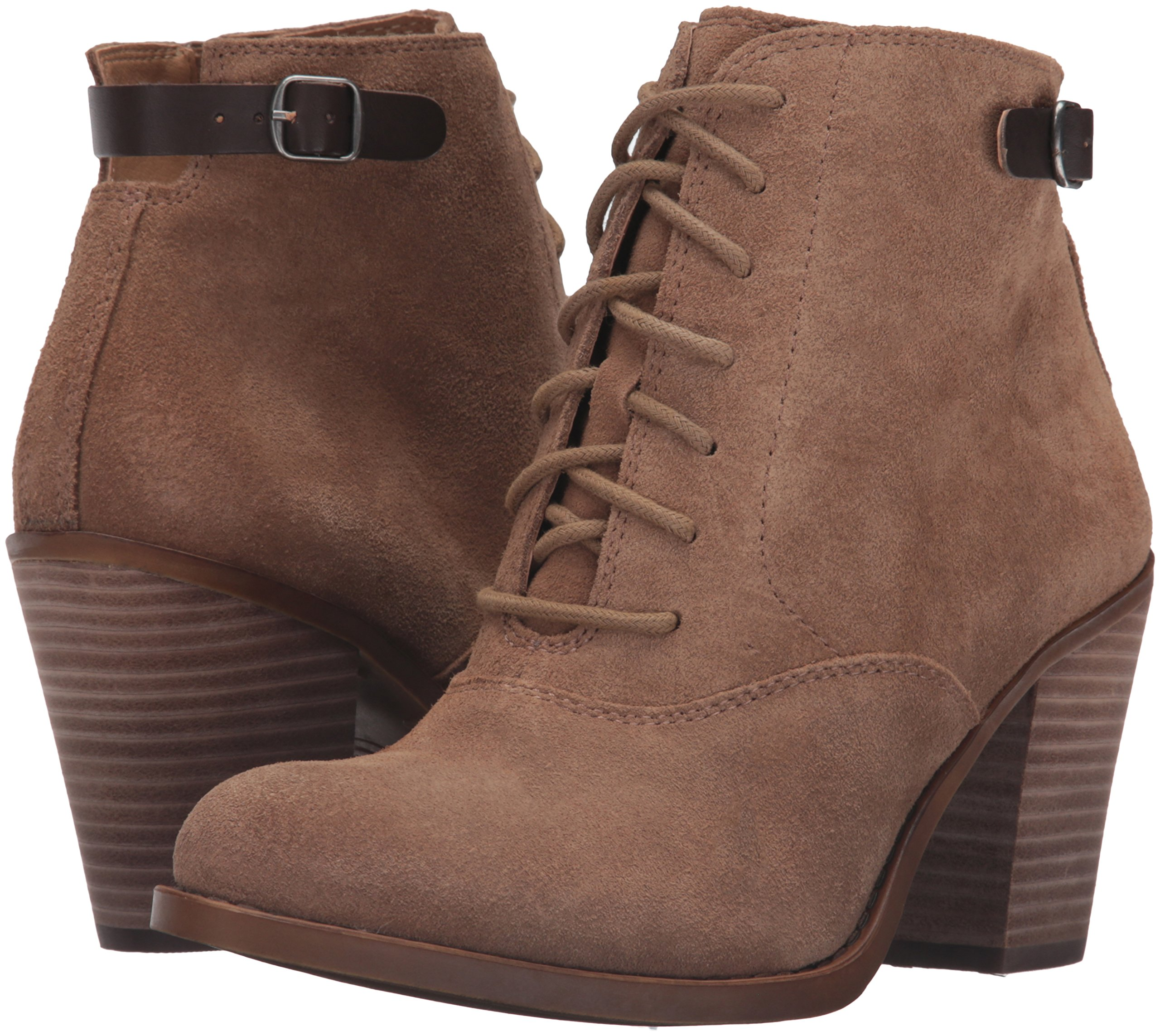 Lucky Brand Women's Echoh Ankle Bootie, Sesame, 10 M US by Lucky Brand (Image #6)