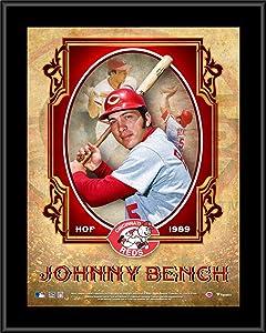 Johnny Bench Cincinnati Reds 10.5