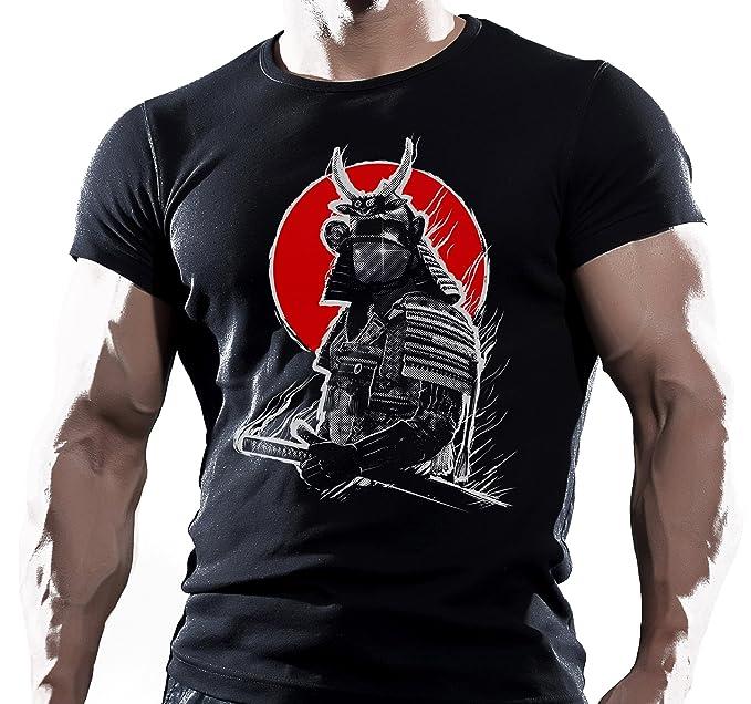 3eea504a Dark Samurai Mens Gym Bodybuilding T-Shirt MMA Workout Clothing Training TOP  UFC: Amazon.co.uk: Clothing