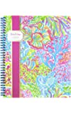 Lilly Pulitzer Lovers Coral Wirebound Notebook (163421)