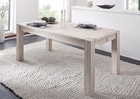 Tavoli Da Pranzo In Legno Massello : Massiccio acacia legno mobili tavolo da pranzo 120x120 mobili in