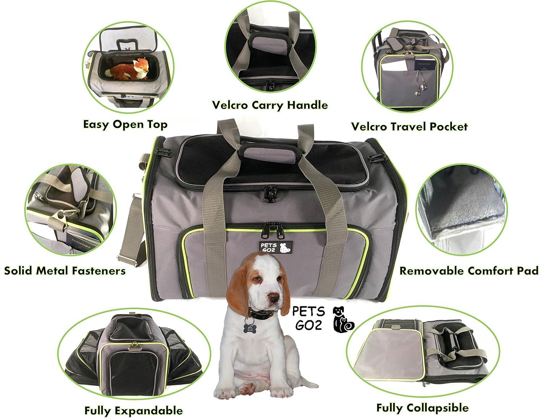 Dog Carrier Cat Travel Bag Airline Approved Side