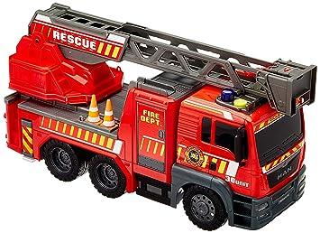 Dickie 3719017 Camión de Bomberos Gigante luz y Sonido 54cm ...